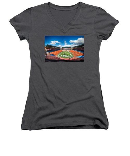 Aloha Stadium Women's V-Neck