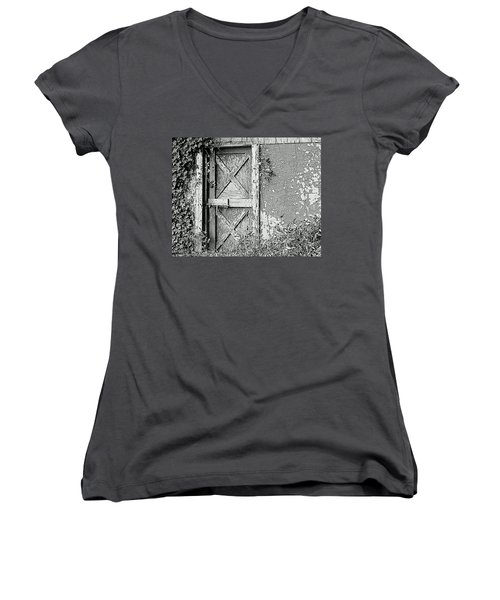 Abandoned And Alone Women's V-Neck (Athletic Fit)
