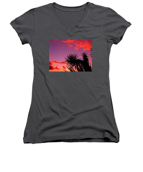 America The Beautiful Women's V-Neck (Athletic Fit)