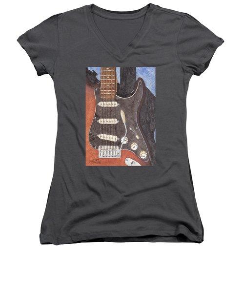 American Standard Two Women's V-Neck T-Shirt