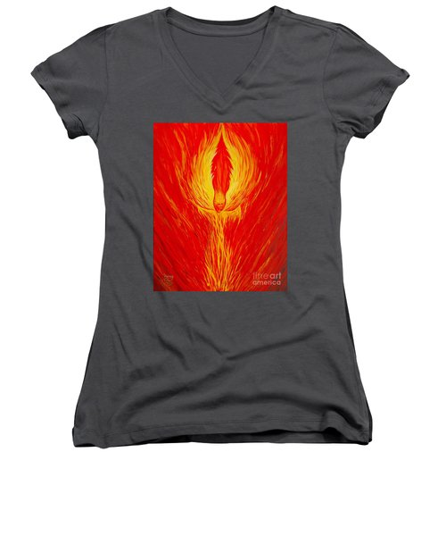 Angel Fire Women's V-Neck