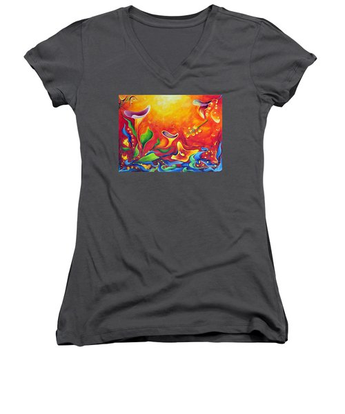 Another Dream Women's V-Neck T-Shirt (Junior Cut)