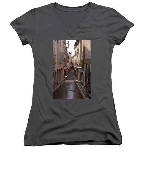 Antibes 76 Women's V-Neck T-Shirt