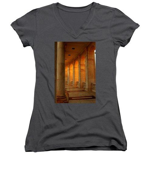 Arlington National Cemetery Women's V-Neck T-Shirt