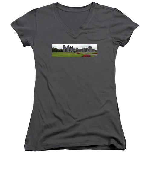 Ashford Castle Women's V-Neck (Athletic Fit)