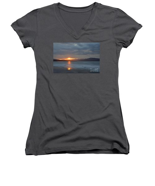 Ashokan Reservoir 34 Women's V-Neck T-Shirt