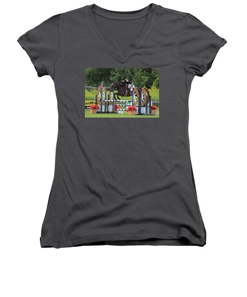At-su-jumper100 Women's V-Neck (Athletic Fit)