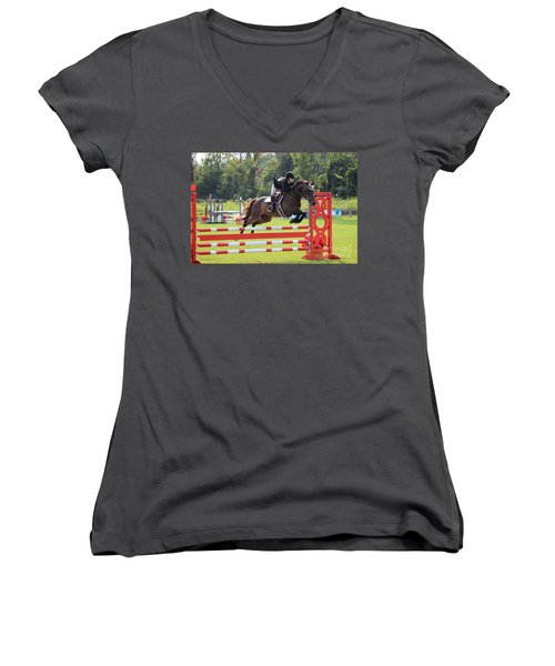 At-su-jumper57 Women's V-Neck (Athletic Fit)