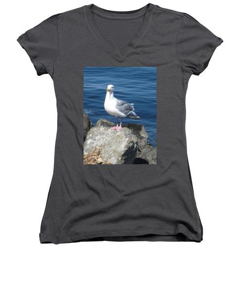 Attitude Women's V-Neck T-Shirt
