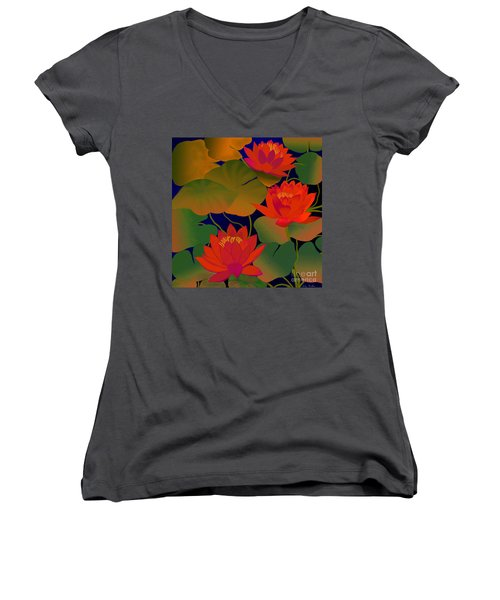 Aura Women's V-Neck (Athletic Fit)