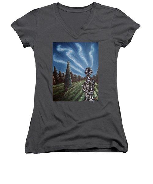 Aurora Women's V-Neck T-Shirt