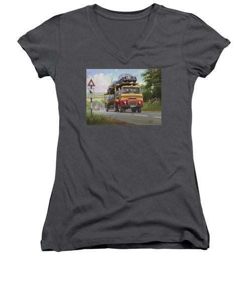 Austin Carrimore Transporter Women's V-Neck (Athletic Fit)