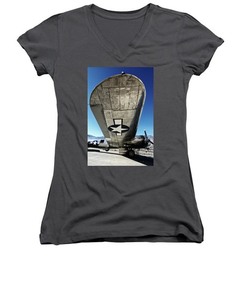 B 17 Sentimental Journey Women's V-Neck