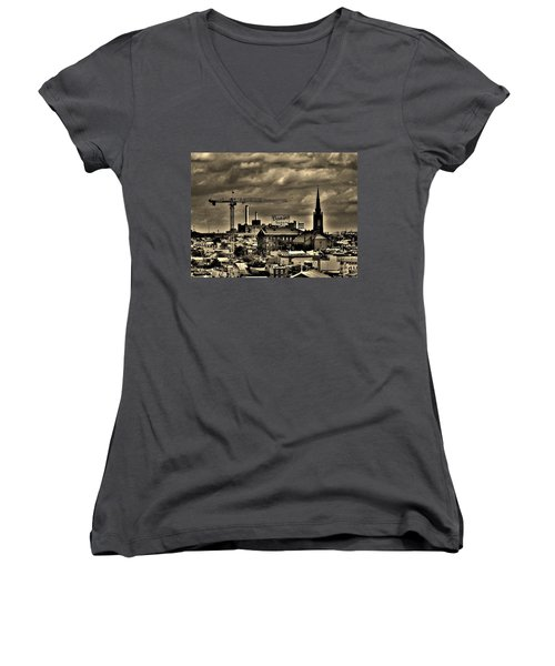 Baltimore Women's V-Neck (Athletic Fit)