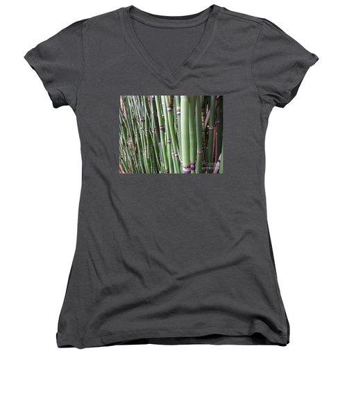 Bamboo Women's V-Neck