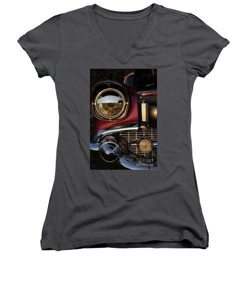 Beaming Women's V-Neck T-Shirt