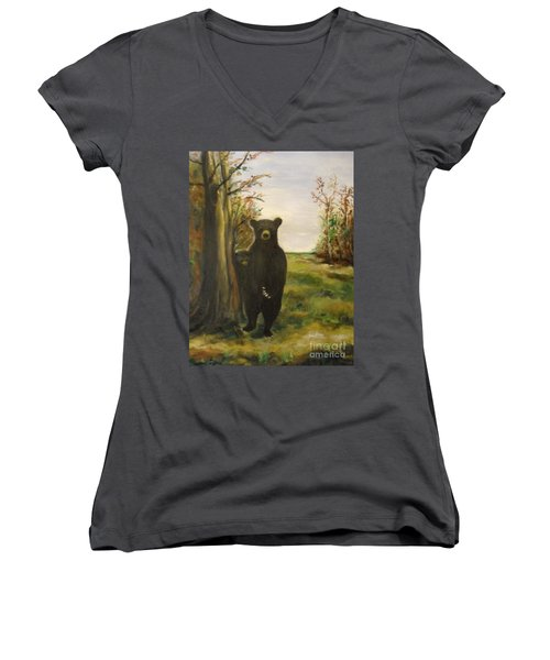 Bear Necessity Women's V-Neck