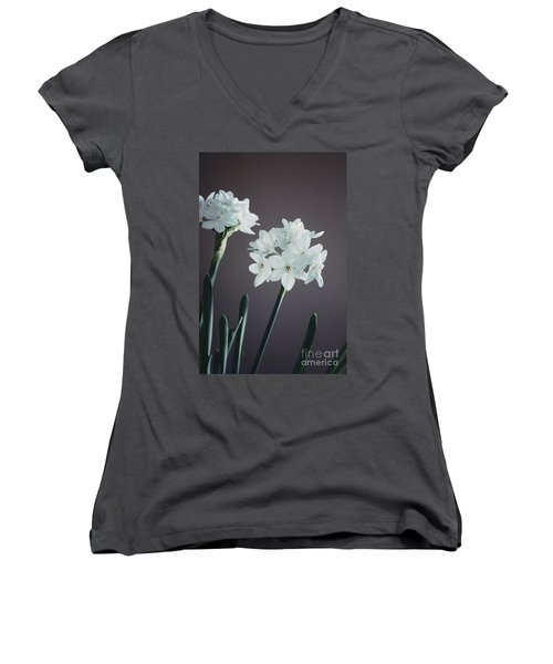 Beautiful Bloomer Women's V-Neck (Athletic Fit)