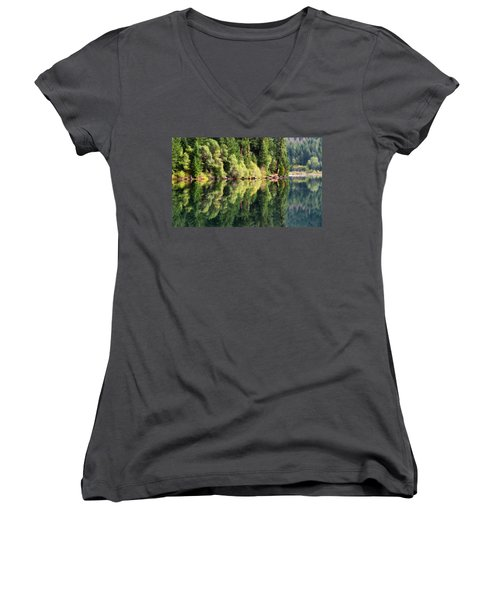 Beautiful Water Women's V-Neck (Athletic Fit)