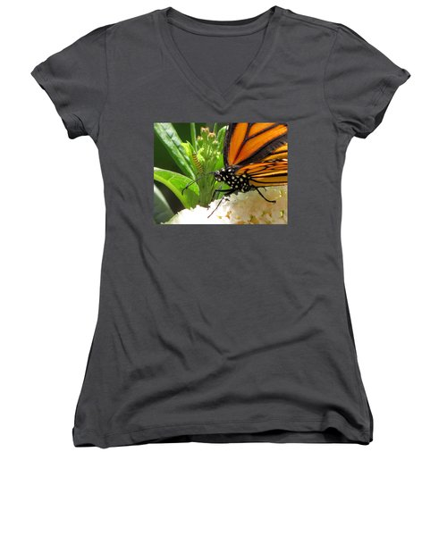 Before And After Women's V-Neck T-Shirt