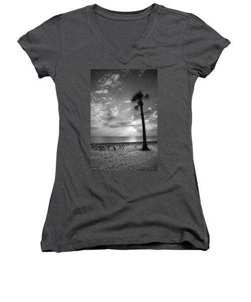 Before Sunset Women's V-Neck
