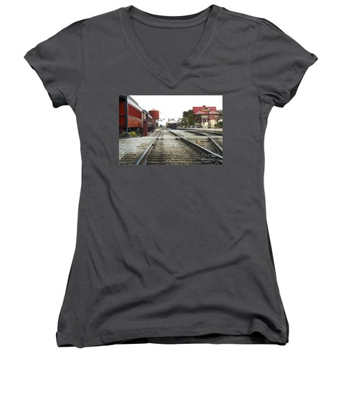 Before The First Passengers Women's V-Neck