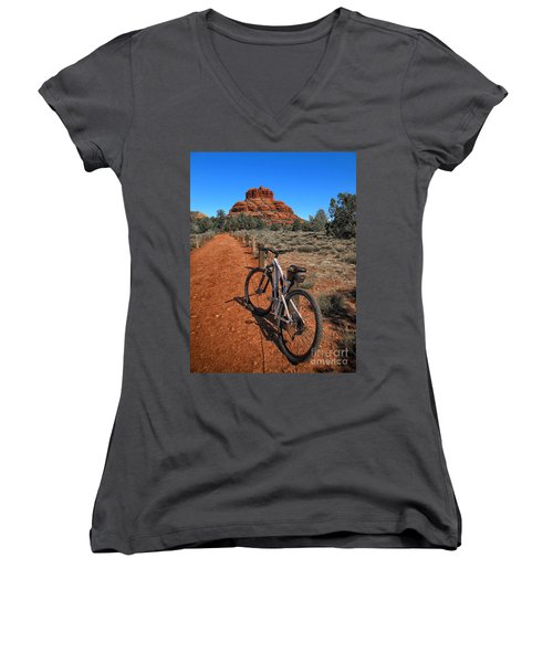 Bell Rock Trail Women's V-Neck T-Shirt