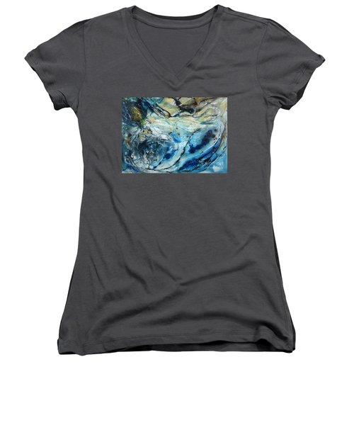 Beneath The Surface Women's V-Neck T-Shirt