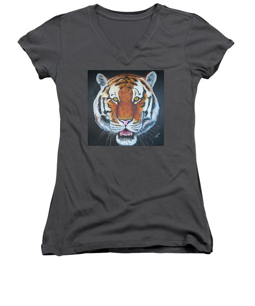 Bengal Tiger Women's V-Neck