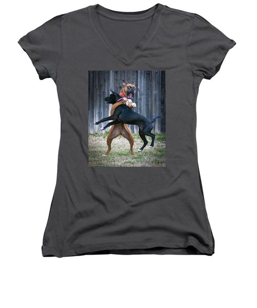 Best Of Friends Women's V-Neck