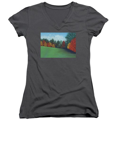 Between The Rainstorms Women's V-Neck