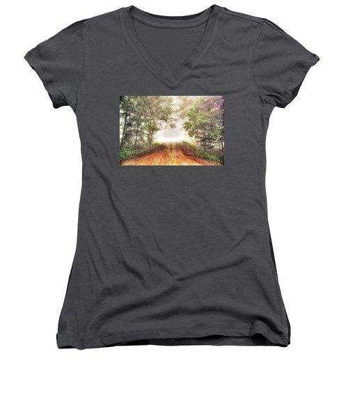 Beyond Women's V-Neck T-Shirt (Junior Cut) by Dan Stone