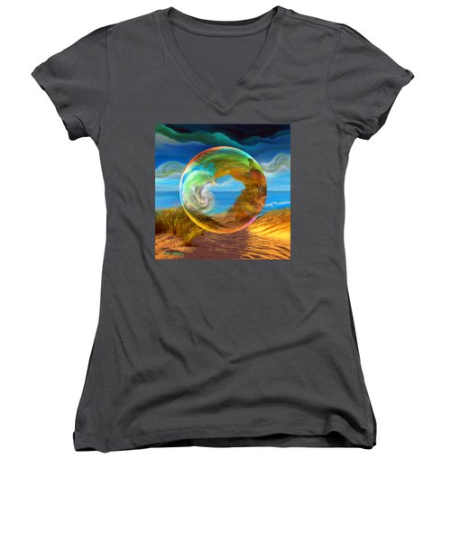 Beyond The Sea  Women's V-Neck