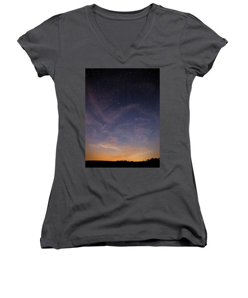 Big Dipper Women's V-Neck T-Shirt