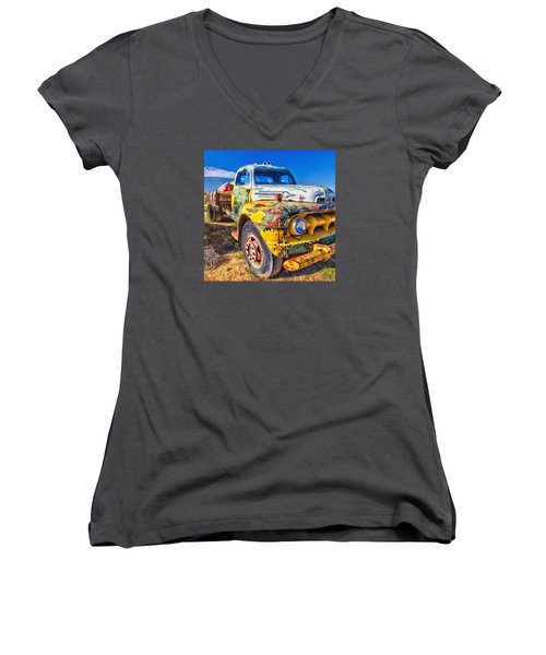 Big Job Women's V-Neck