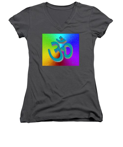 Big Ohm Women's V-Neck