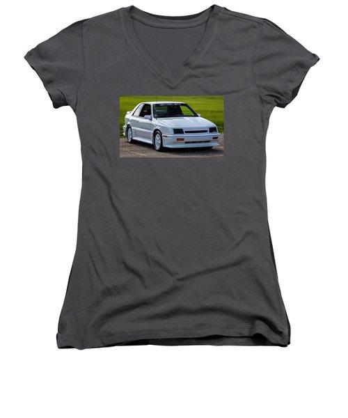 Birthday Car 04 Women's V-Neck