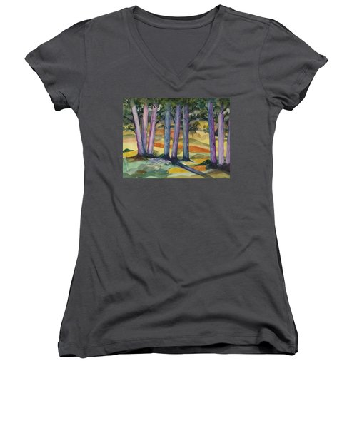 Blue Grove Women's V-Neck (Athletic Fit)