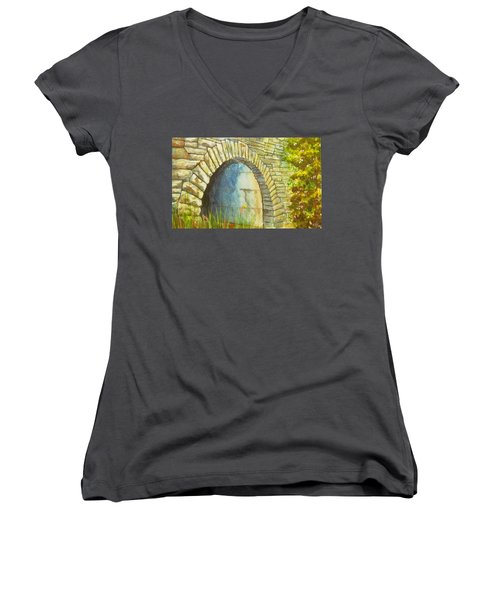 Blue Ridge Tunnel Women's V-Neck
