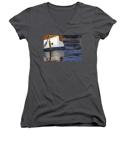 Blue Rudder Women's V-Neck (Athletic Fit)
