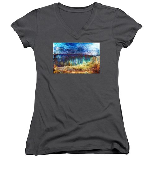 Blue Shore Women's V-Neck T-Shirt