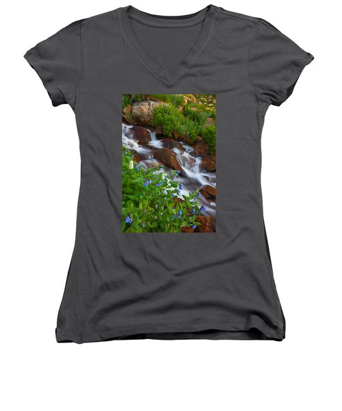 Bluebell Creek Women's V-Neck