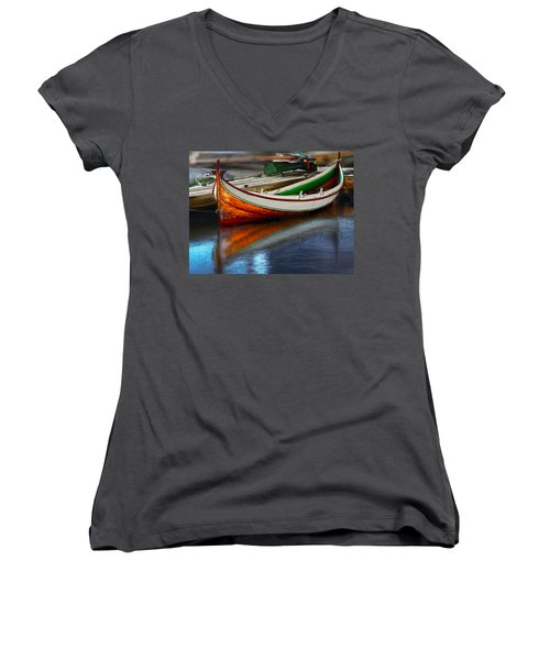 Boat Women's V-Neck (Athletic Fit)