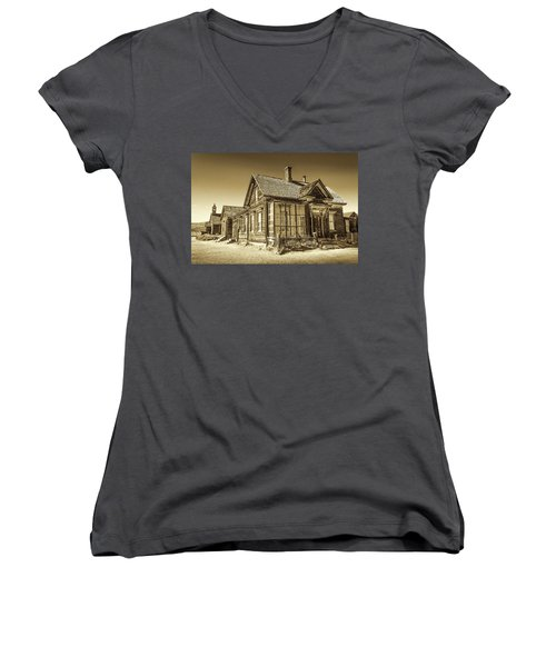 Bodie Ghost Town Women's V-Neck