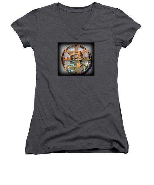 Boston Bruins Women's V-Neck T-Shirt