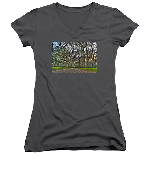 Botany Bay Road Women's V-Neck T-Shirt