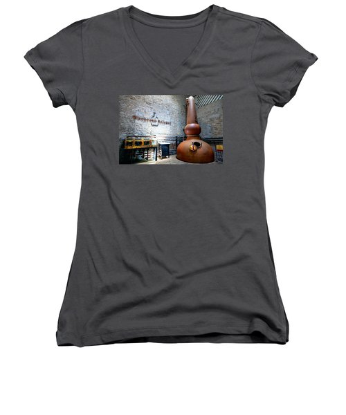 Bourbon Distillery Women's V-Neck T-Shirt
