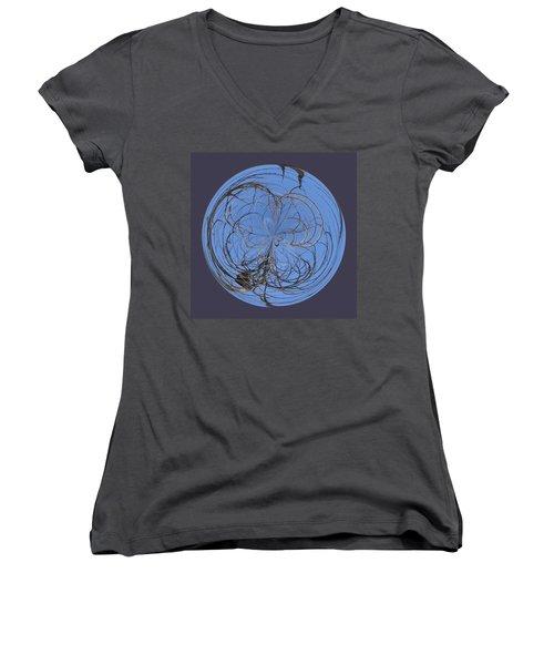 Branch Orb Women's V-Neck T-Shirt