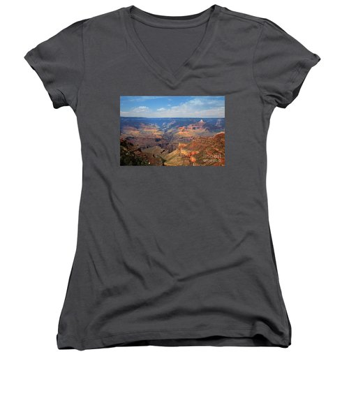 Bright Angel Trail Grand Canyon National Park Women's V-Neck