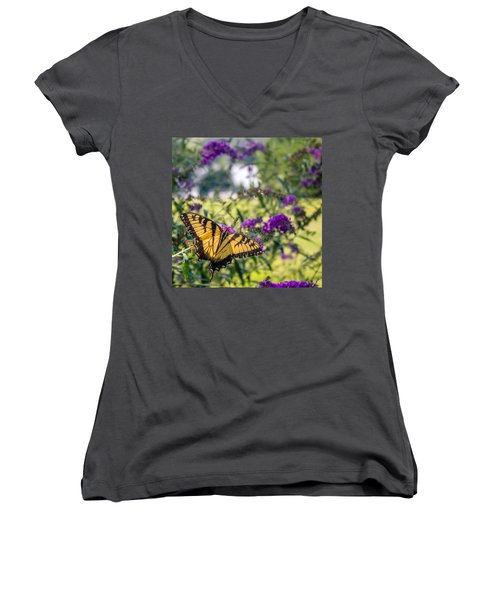 Broken Beauty Women's V-Neck (Athletic Fit)